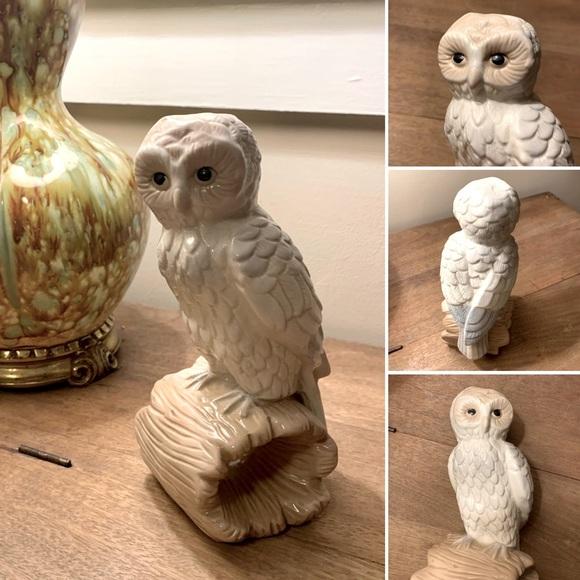 🦋2/$10 3/$15 4/$18 5/$20 Vintage Owl Statue